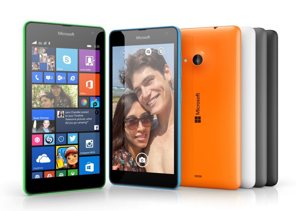 microsoft first lumia, lumia 535
