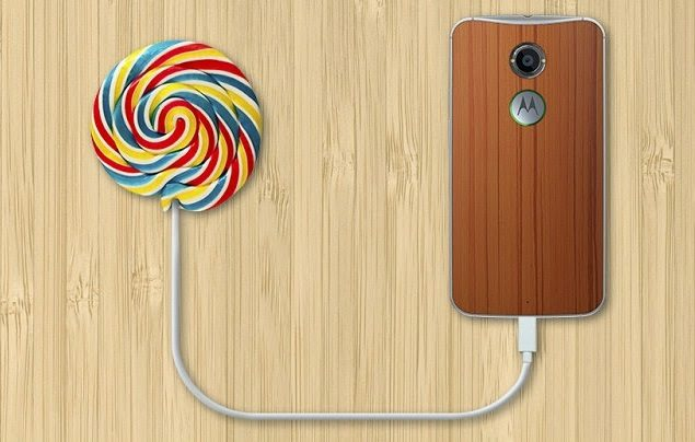 Android Lollipop for Moto G