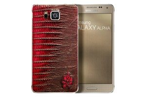 galaxy alpha leather back