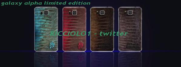 Samsung alpha limited edition