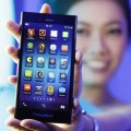 BlackBerry Z3 display