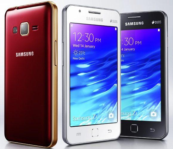 samsung Z1 tizen smartphone in india, samsung z1 price in india