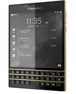 blackberry passport gold edition