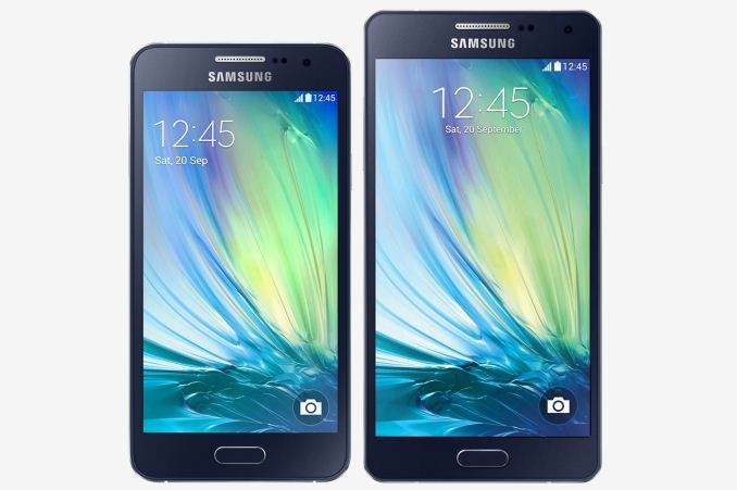 samsung galaxy a3 and galaxy a5