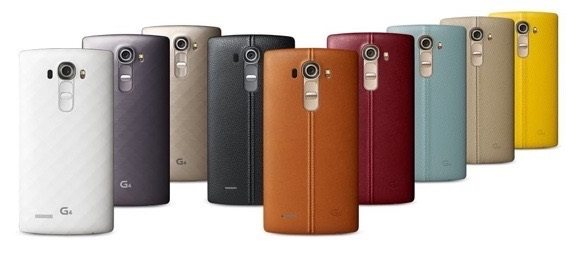lg g4 rear leather cover in various colors