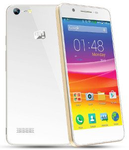micromax canvas hue white