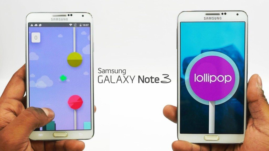 android lollipop galaxy note 3, samsung note 3 android update
