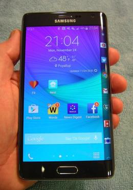 samsung galaxy note edge display features