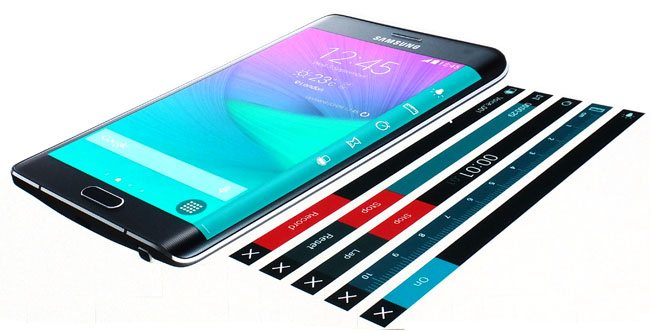 samsung galaxy note edge display layers