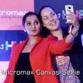 Micromax Canvas Selfie camera