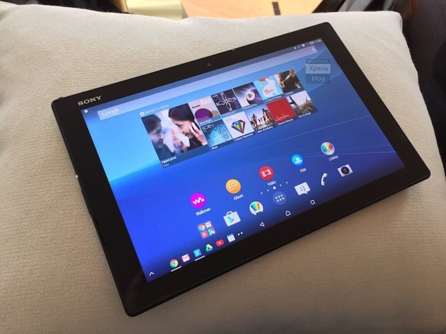 xperia z4 tablet, rumors, image, leaks, mwc