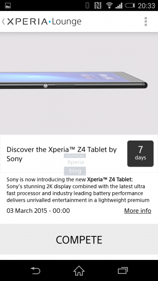 sony xperia z4 tablet, leaks, rumors, mwc, 2015, latest news