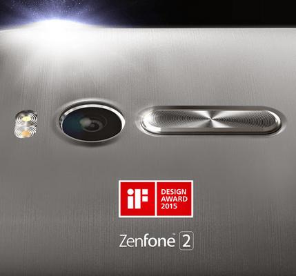 asus zenfone 2, award, if design, 2015, launch