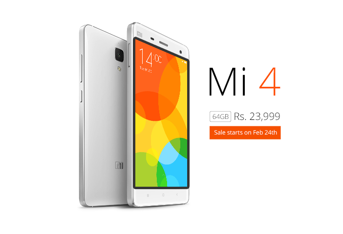 xiaomi mi4, 64gb, buy, india, latest news, mobile phone