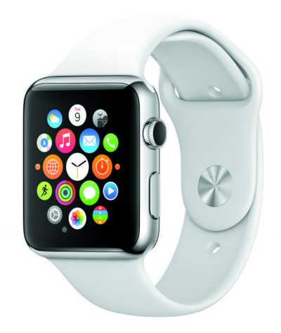 apple watch on white strip, sport, lauch, unveils, release date, price