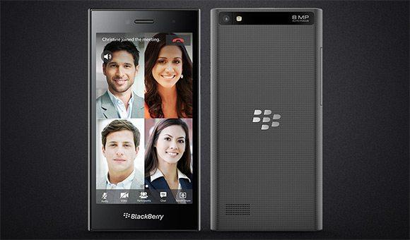 blackberry leap budget phone beautiful black image