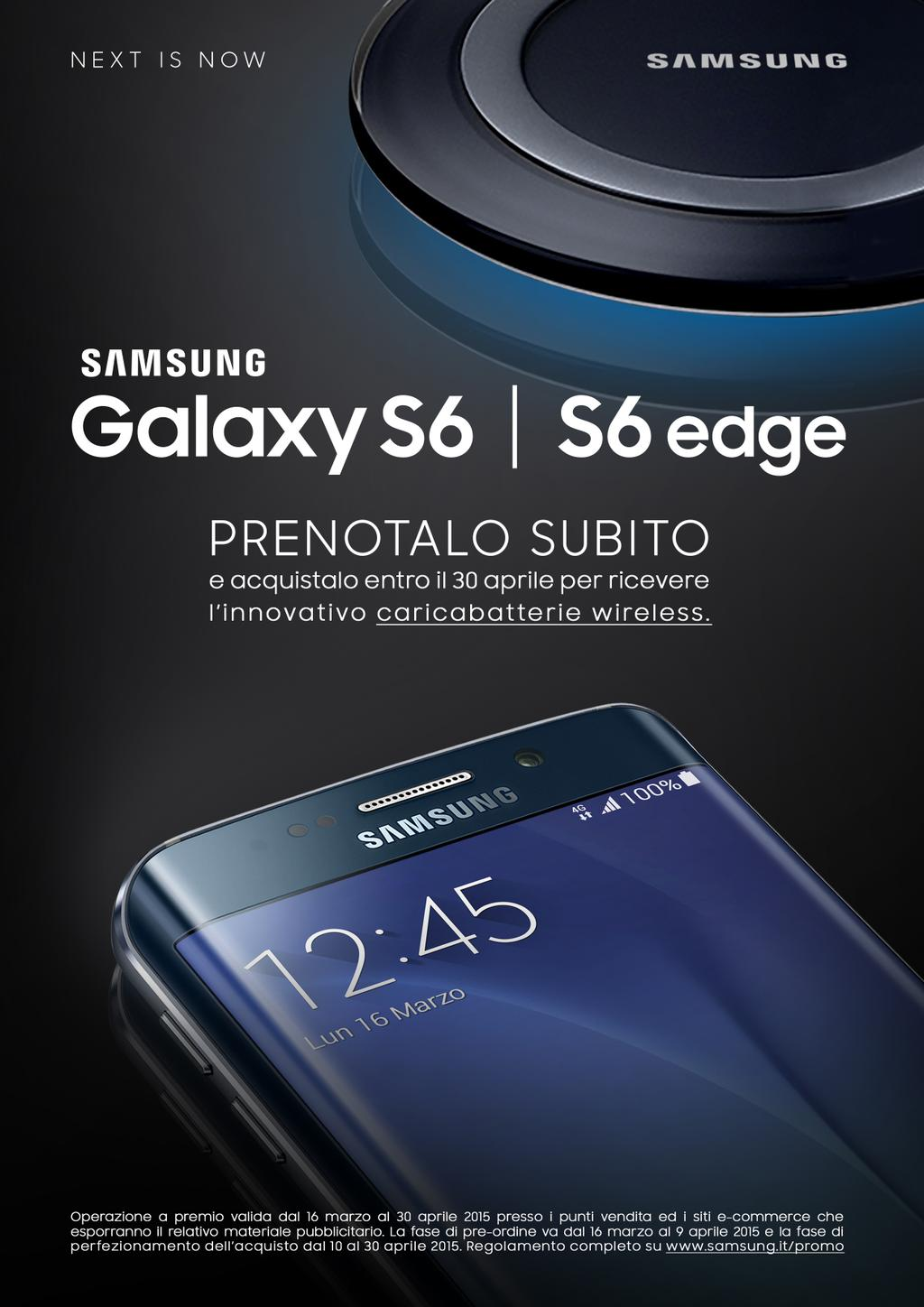 samsung galaxy s6, s6 edge, offical launch on march 16 in italy, price in italy