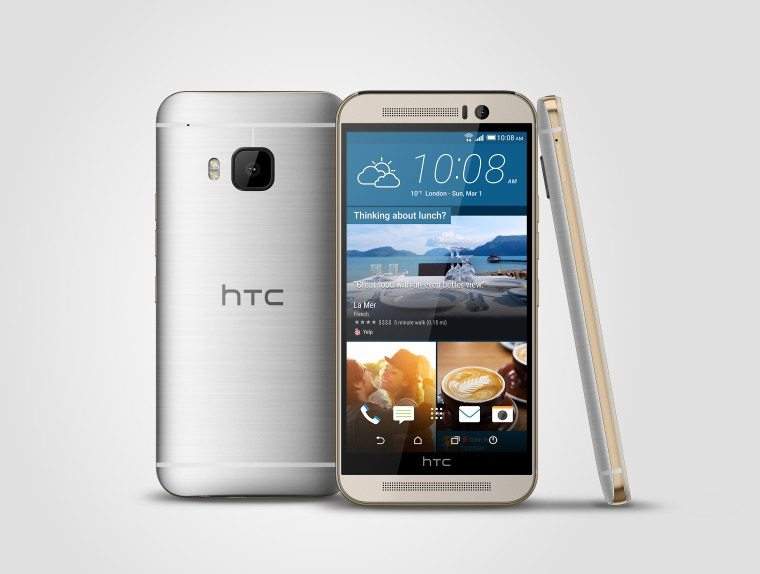 htc one m9 silver gray beautiful image