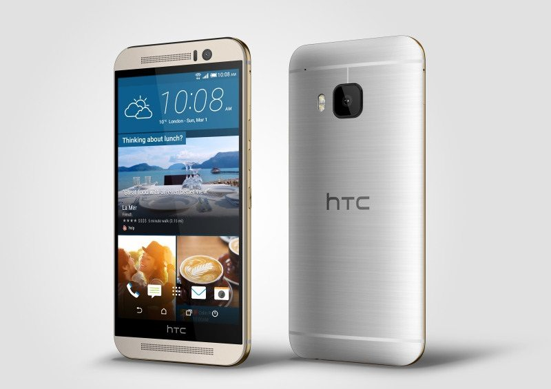 htc one m9, gray color