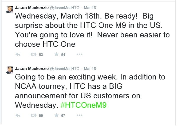 htc one m9 big news in usa, htc big announcement march 18 usa, leaks, rumors