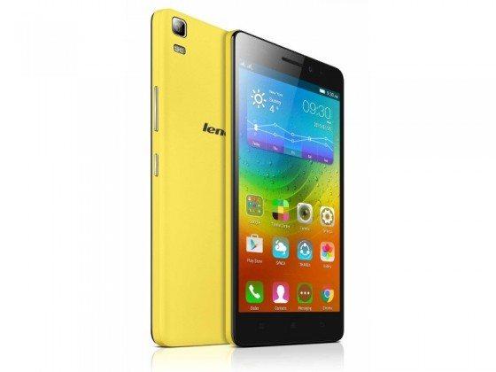 lenovo a7000 yellow and black image