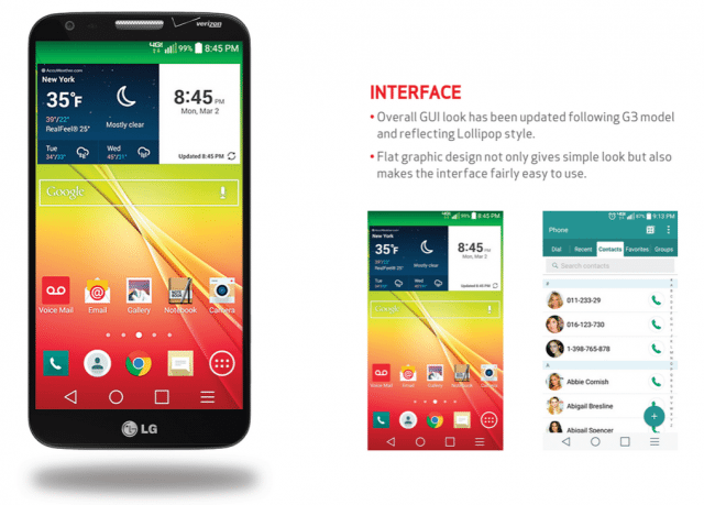 verizon lg g2 receive android lollipop udpate