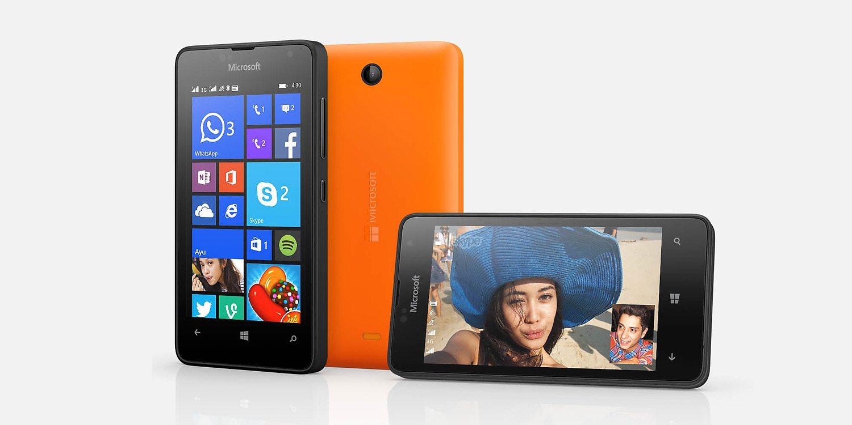 microsoft lumia 430 dual sim phone real image