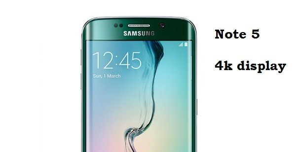 samsung galaxy note 5, price, specs, release date, 4k display, launch, announce, new note