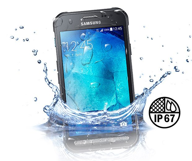samsung galaxy xcover 3, water resistance, water proof, price, launch
