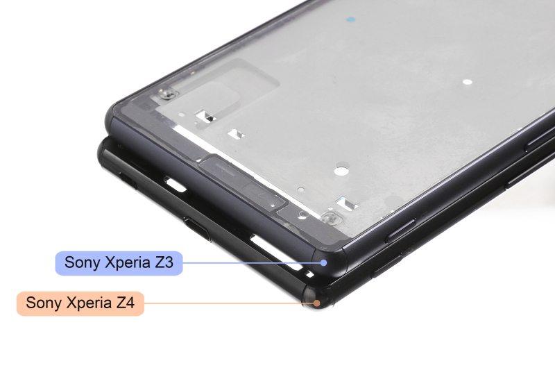 sony xperia z4, image leak, metal framework, compare z3, rumors