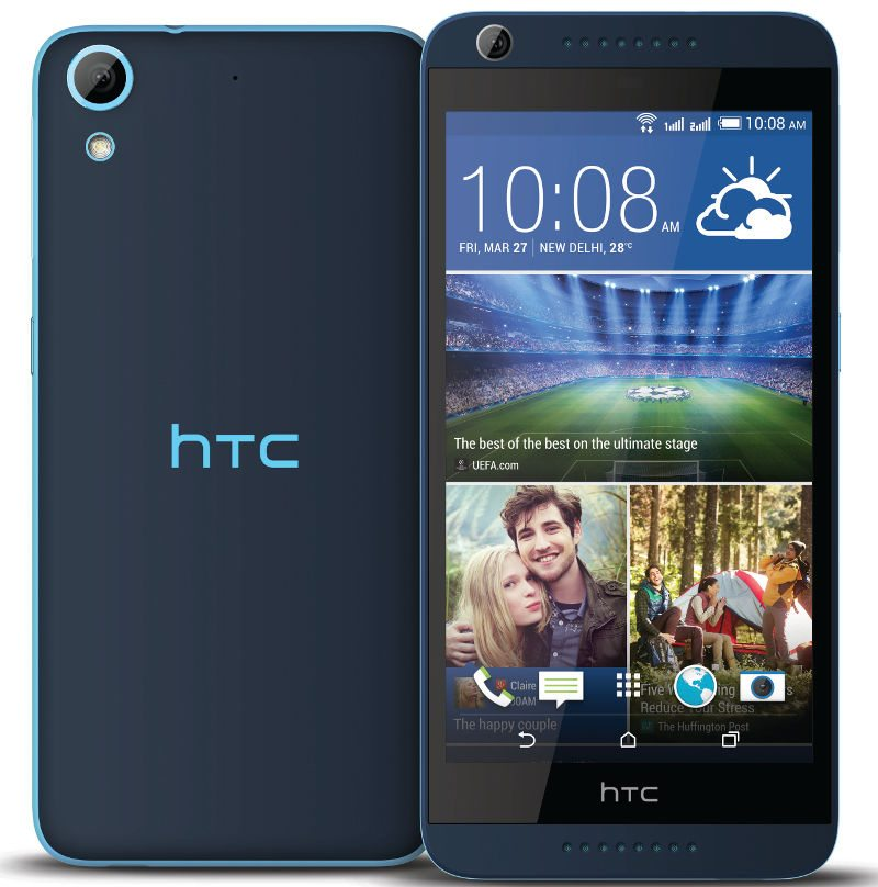 htc desire 626g+ picture blue