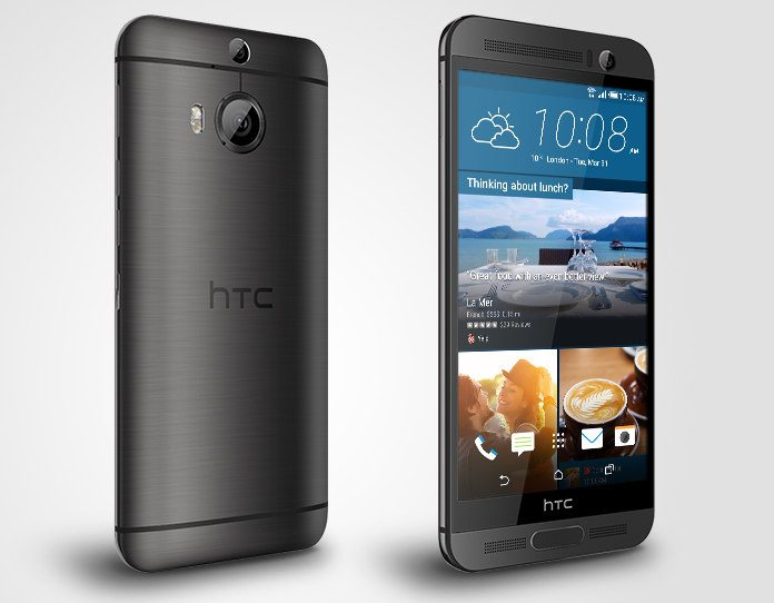 htc one m9+ announce official