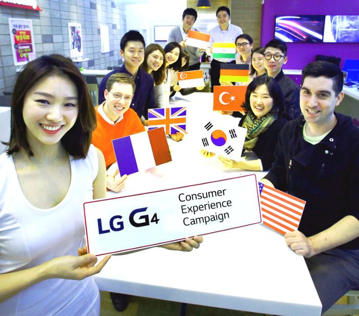 lg g4 consumer experience campaign