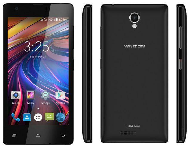 walton primo hm mini black color phone