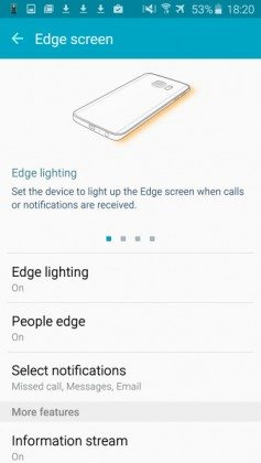 galaxy s6 edge display review