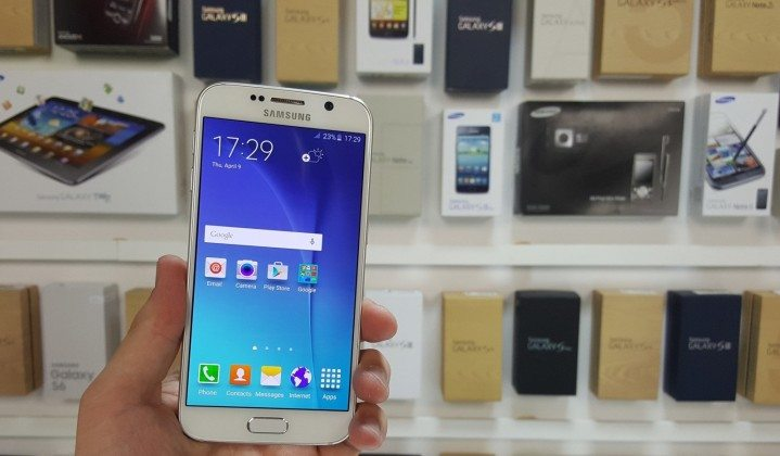 samsung galaxy s6 display review