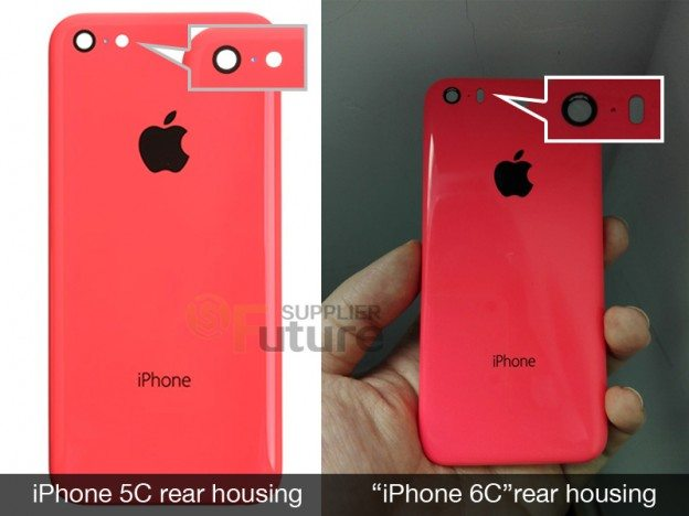 iphone 6c rear casing leaks