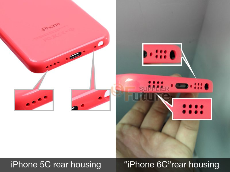 iphone 6c rear cover pink image
