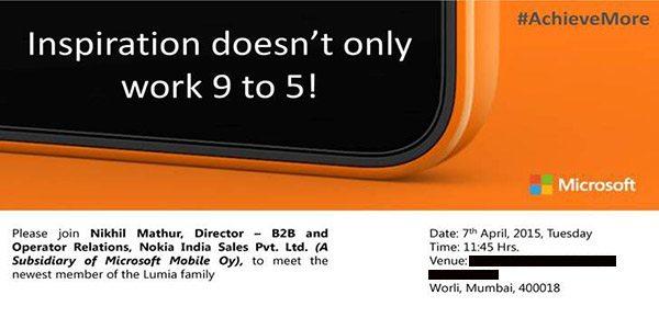 microsoft lumia 640 launch in india release date