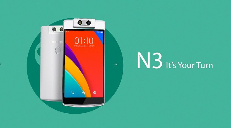oppo n3 launch in india