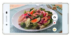 sony xperia z4 new cooking mode