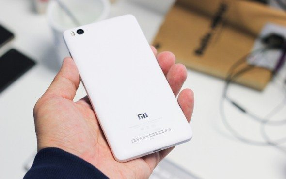 xiaomi mi 4i rear panel, white color, pic, photo, launch, latest news