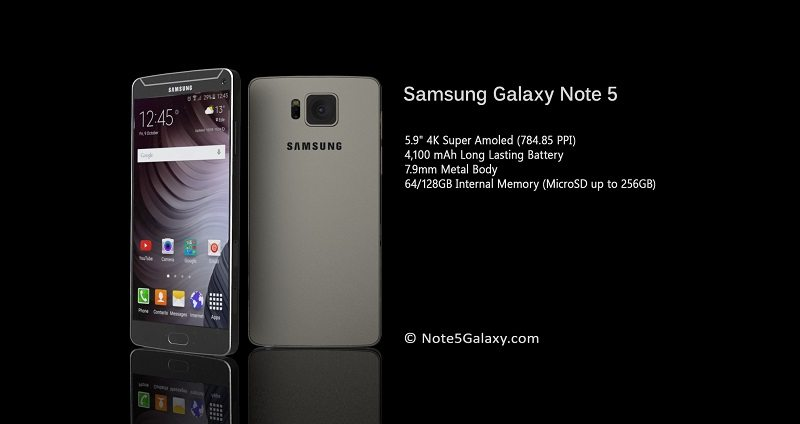 samsung galaxy note 5 images, speciifcation