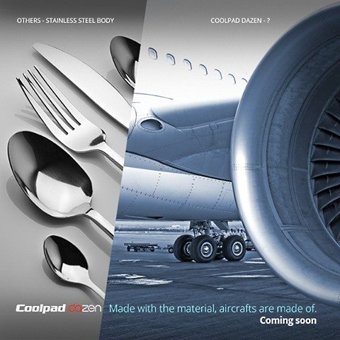 Dazen, aircraft material phone, coolpad phone made with aircraft material