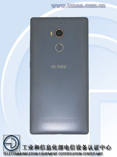 gionee elife e8 rear view, camera, image