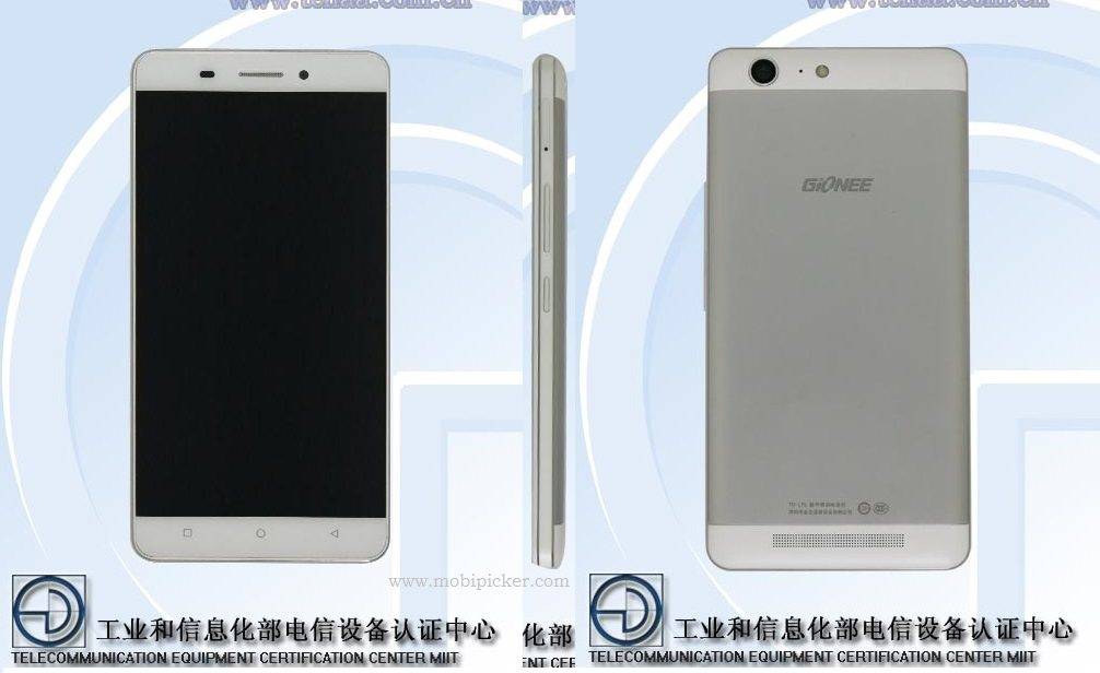 gionee m5 tenaa certification, specification