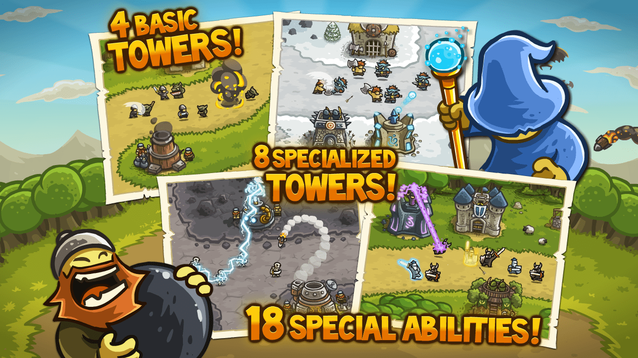kingdom rush android free games, epic game, fight, free