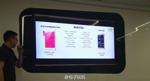 oppo r7 price revealed, price in china, oppo r7 presentation