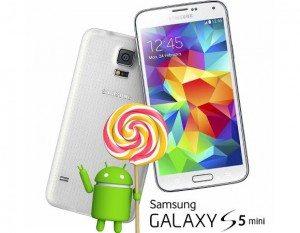 samsung galaxy s5 mini, android 5.0.1 lollipop udpate, software update, samsung denmark