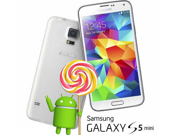 samsung galaxy s5 mini, android 5.0.1 lollipop udpate, software update, samsung denmark